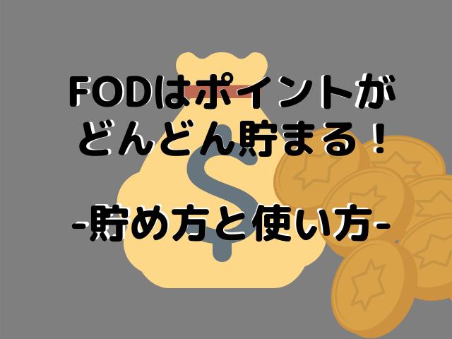 FODのポイントシステム