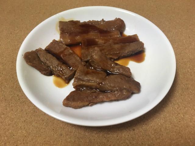 炭火焼仕上げ豚ばら肉の蒲焼き